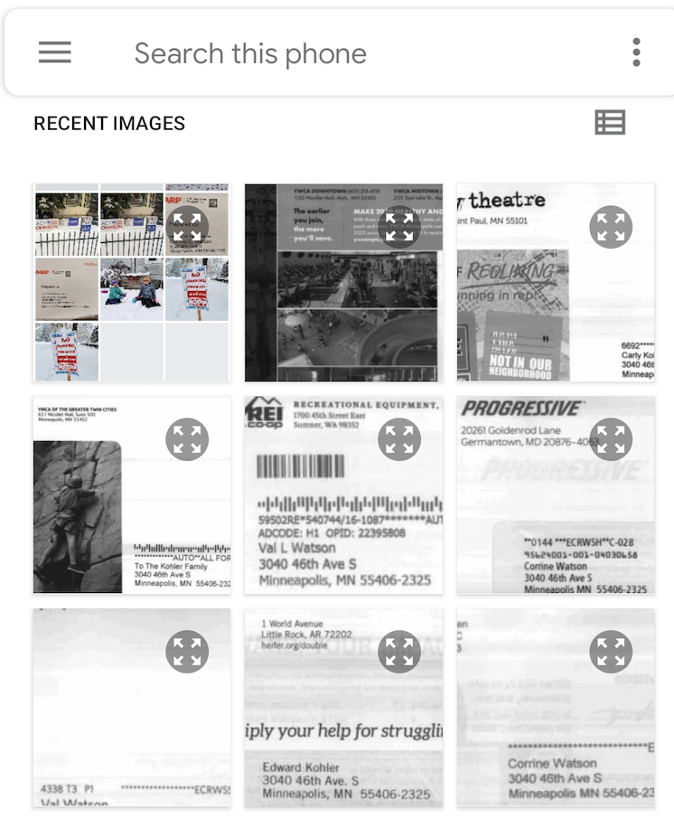 Informed Delivery Digest - Select Image